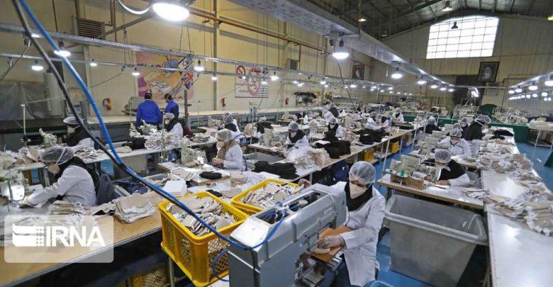 خطوط تولیدی مواد ضد عفونی کننده و ماسک های فیلتر دار در وزارت دفاع